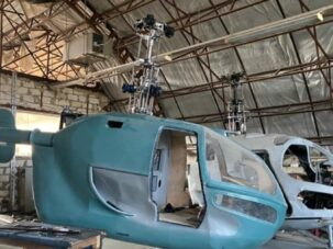 The Authorities Closed an Illegal Factory that Produced Helicopters
