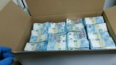 The Customs Service Finds Packages Full of Undeclared Money