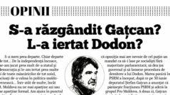 Has Gațcan Changed His Mind? Has President Igor Dodon Forgiven Him?