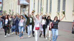In Belarus, Women form Solidarity Chains, Doctors and Factory Workers Organize Strikes