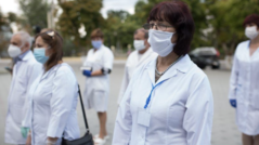 The EU and the WHO Donate Protective Equipment to the Doctors in the ATU Găgăuzia