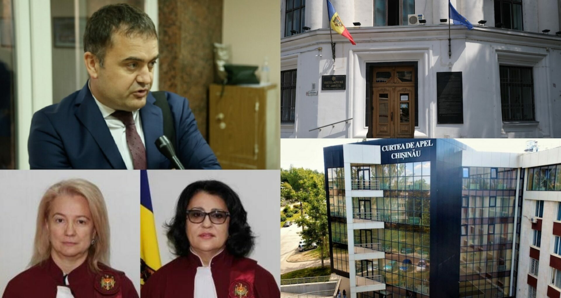 New Judges at the Supreme Court of Justice and the Chișinău Court of Appeal