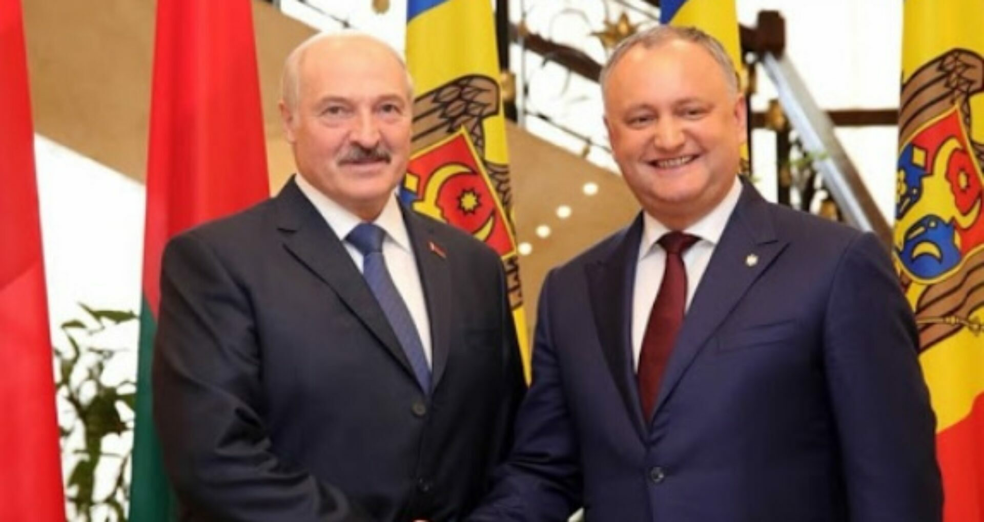 President Igor Dodon Congratulated His Belarusian Counterpart Alexandr Lukashenko on His Victory in the Presidential Elections