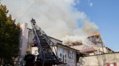 Chisinau's National Philharmonic in Flames. Officials Declare It is a Tragedy for Moldova
