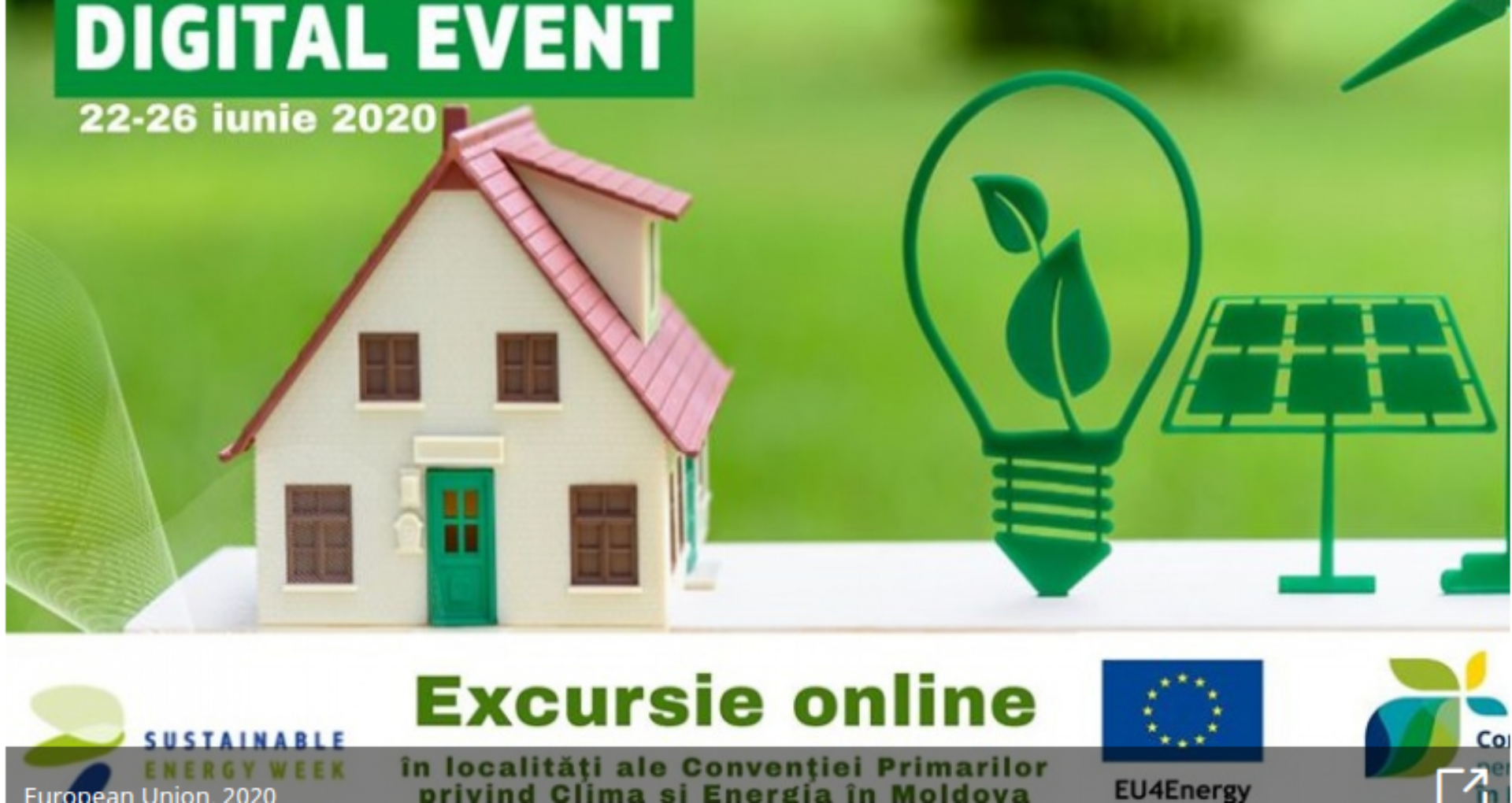 Moldova Offers Virtual Tours of its Cities During the EU Sustainable Energy Week