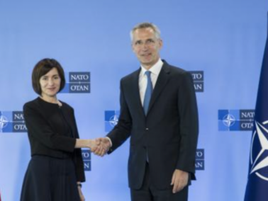 President Maia Sandu had a Conversation with NATO Secretary General, Jens Stoltenberg
