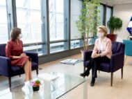 Maia Sandu Meets the President of the European Commission, Ursula von der Leyen