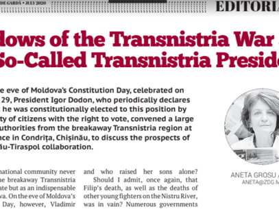 Widows of the Transnistria War and a So-Called Transnistria President