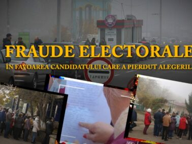 A Lesson From Igor Dodon: Frauding Elections And Losing the Presidential Race