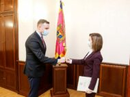 Sandu Meets the Lithuanian Minister of Foreign Affairs