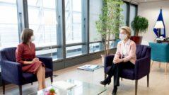 Maia Sandu Meets the President of the European Commission, Ursula von der Leyen