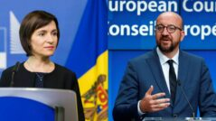 Maia Sandu had a Conversation with the President of the European Council, Charles Michel
