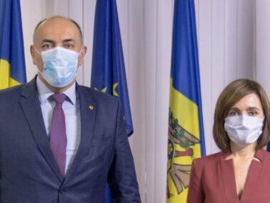 Maia Sandu Meets the Lithuanian Ambassador, Kestutis Kudzmanas
