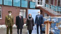 NATO Donates to Moldova Medical Equipment Worth 300,000 Dollars