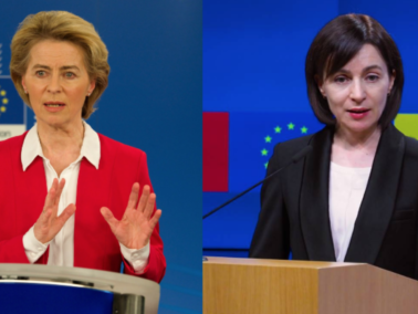 The European Commission President's Message to the President-elect, Maia Sandu