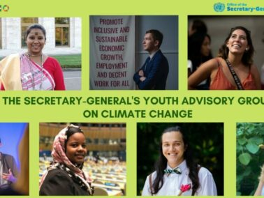 A Young Man from Moldova Became a Member of the Youth Advisory Group on Climate Change Launched by the U.N. Secretary-General