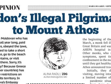 Dodon's Illegal Pilgrimage To Mount Athos