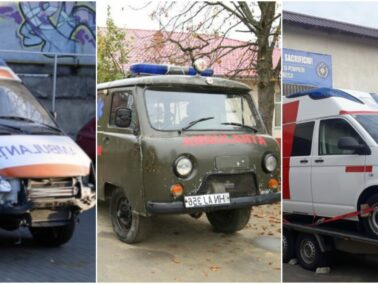 A Group of Moldovans Donated an Ambulance After the Ambulance Bought by the Authorities Broke Down