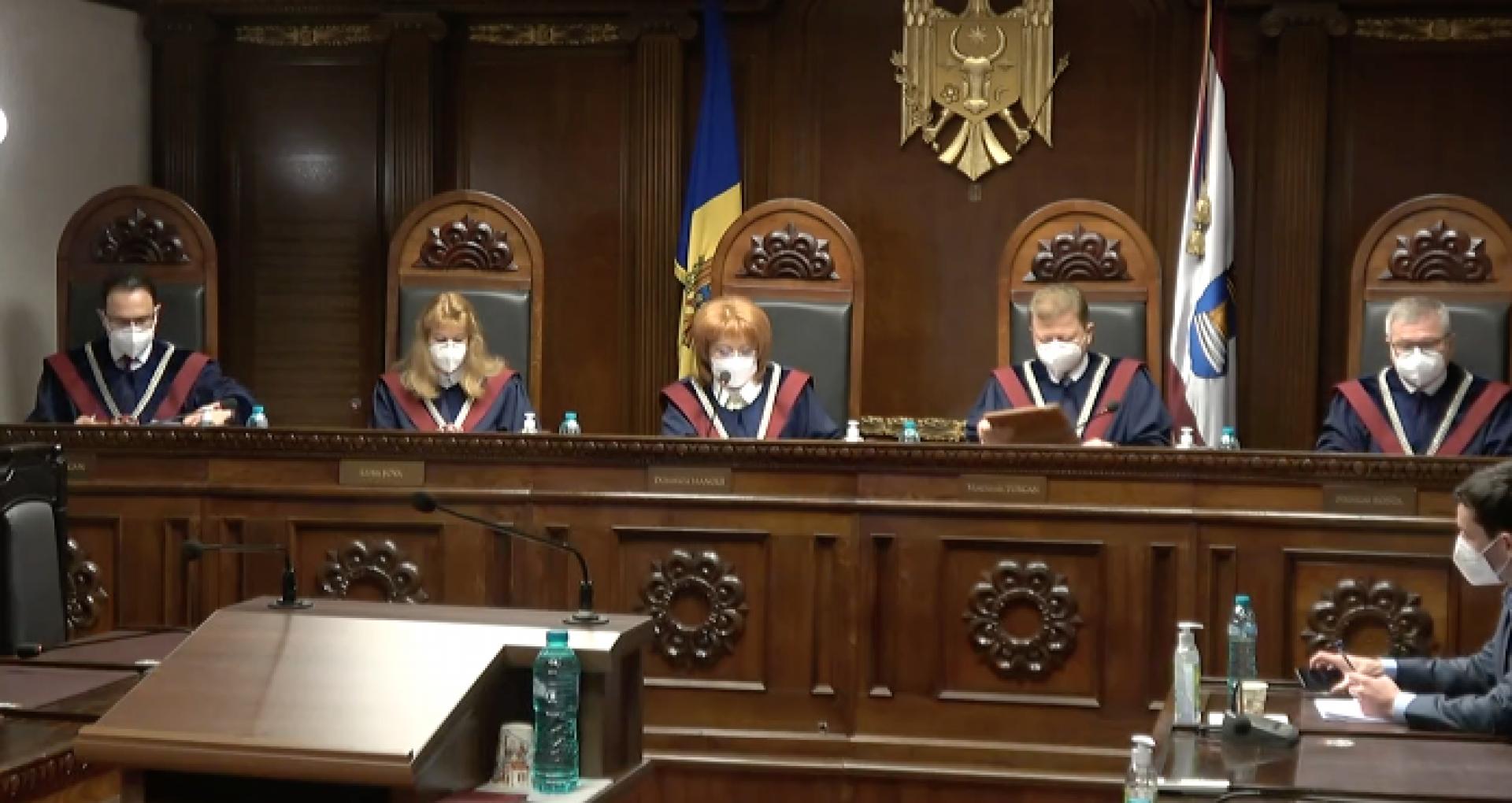Constitutional Court Declares Unconstitutional Parliament's Decision to Revoke the Court's Judge