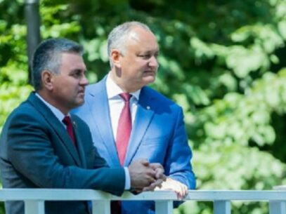 The Outcomes of the Meeting Between President Igor Dodon and Vadim Krasnoselski, the Leader of the Breakaway Transnistria Region