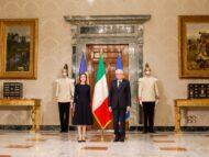 President Sandu Meets Italian President Sergio Mattarella on Her Official Visit to Rome