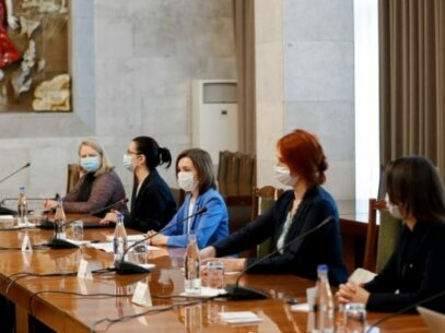 The Parliamentary Assembly of the Council of Europe Delegation Meets with President Maia Sandu and with the Interim Prime Minister Aureliu Ciocoi