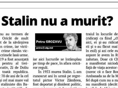 Didn't Stalin die?