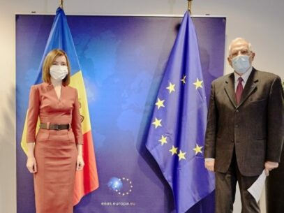 Maia Sandu Meets Josep Borrell, High Representative of the European Union for Foreign Affairs and Security Policy, Vice-President of the European Commission