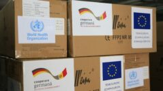Moldova Received Humanitarian Aid from the EU, WHO, and Germany to Fight the Pandemic