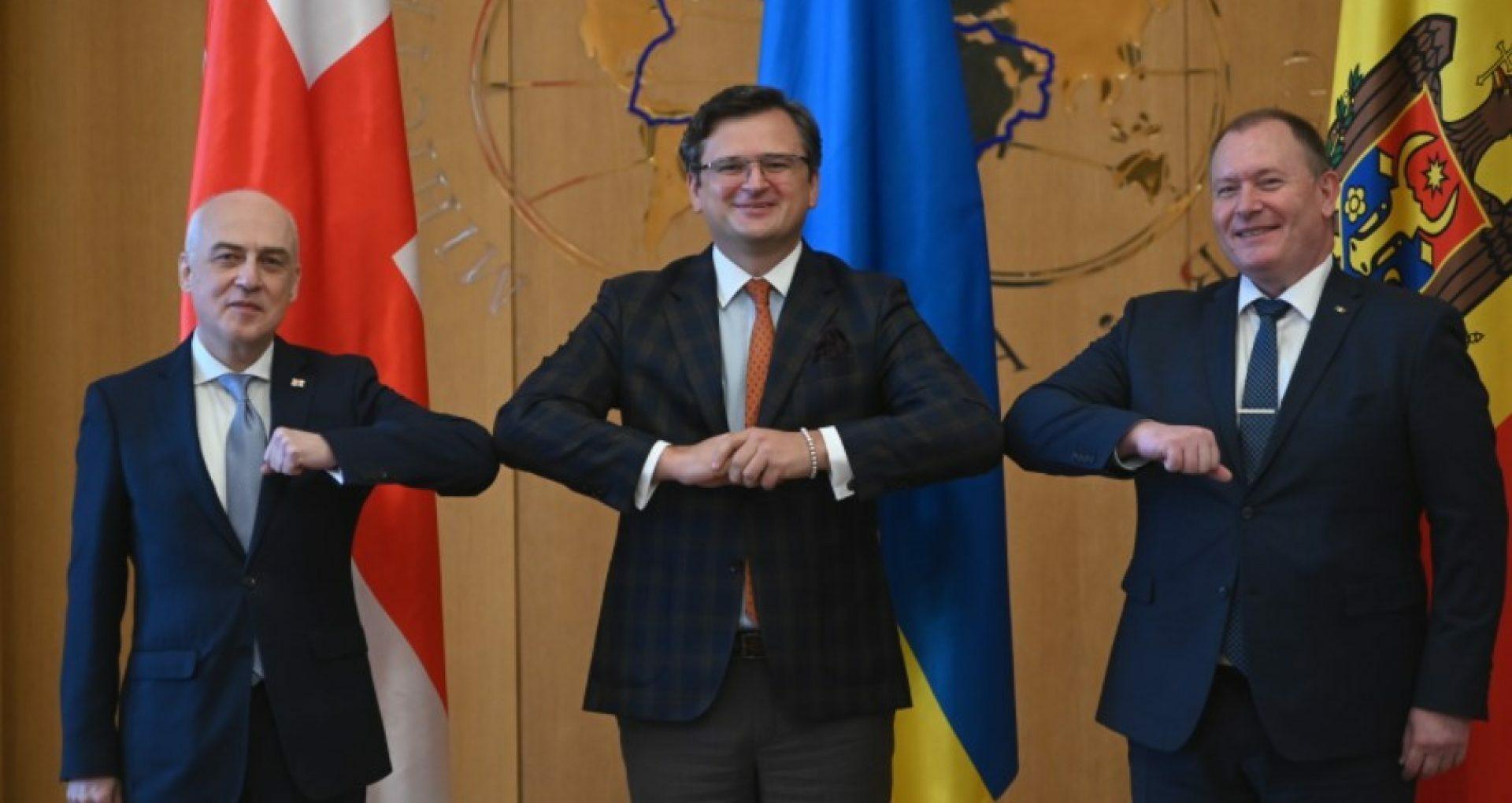Moldova, Ukraine, and Georgia Signed a Memorandum for Cooperation on European Integration