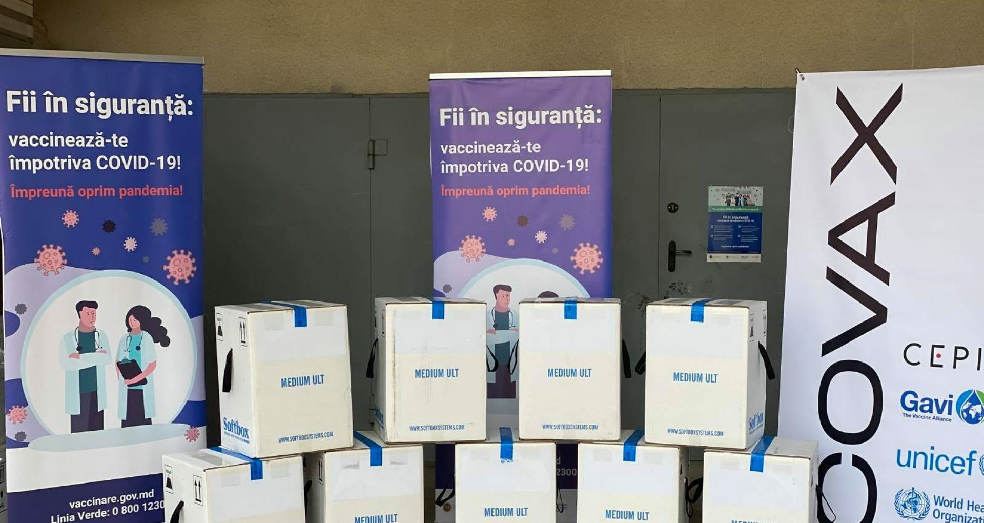 Moldova Received 100,620 Pfizer / BioNTech Vaccines through COVAX
