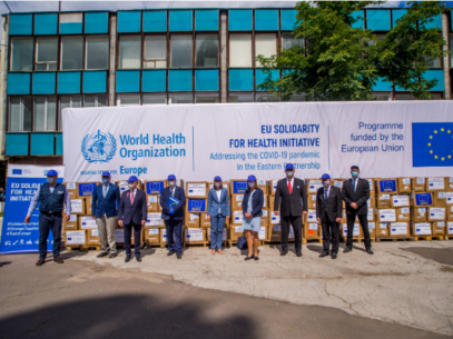 The EU Offered 1.5 Million Pieces of Personal Protective Equipment to Moldova
