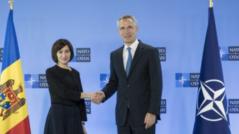 President Maia Sandu had a Conversation with NATO Secretary General, Jens Stoltenberg
