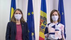 Maia Sandu's Meeting with the Swedish Ambassador to Moldova, Anna Lyberg