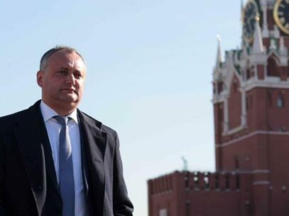 Igor Dodon in an official visit to Moscow in order to meet with Dmitry Kozak