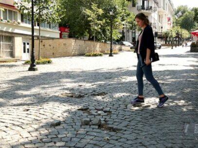 PHOTO/Chisinau's Pedestrian Street Is Deteriorating