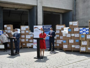 Germany and WHO Makes a New Donation of Medical Equipment to Moldova