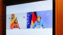 President Sandu Spoke with German Chancellor Angela Merkel
