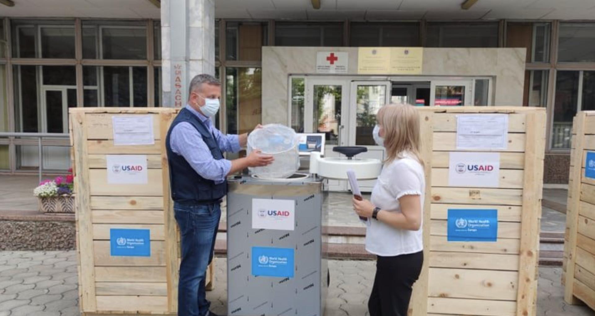 WHO and USAID Delivered Sterilization Equipment for Laboratories in Moldova