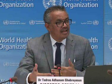 World Health Organization Director-General Criticizes the Vaccine Nationalism