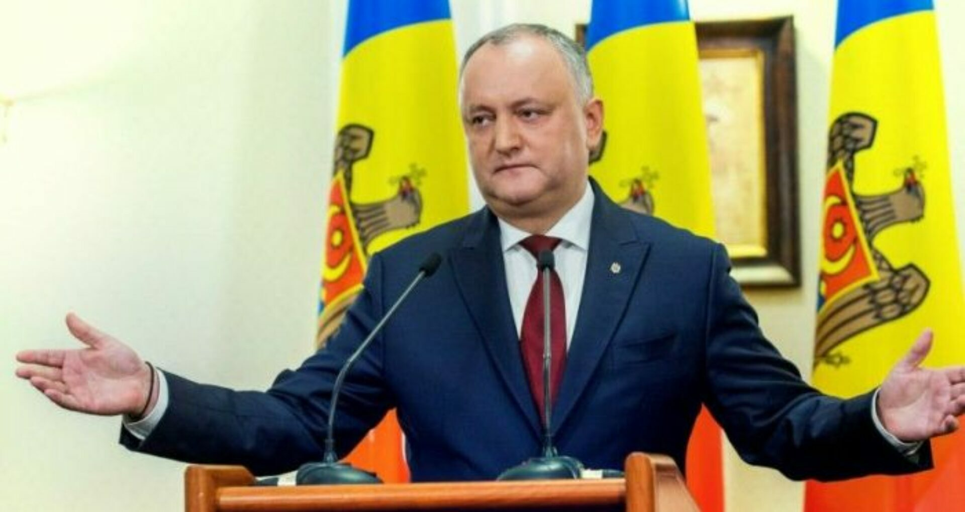 Igor Dodon Mentions In a Discussion With The Ambassador Of China To Moldova About  Receiving an Anti-COVID-19 Vaccine
