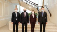 President Sandu Meets Three Members of the European Parliament