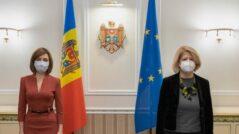 Maia Sandu Meets the Italian Ambassador, Valeria Biagiotti