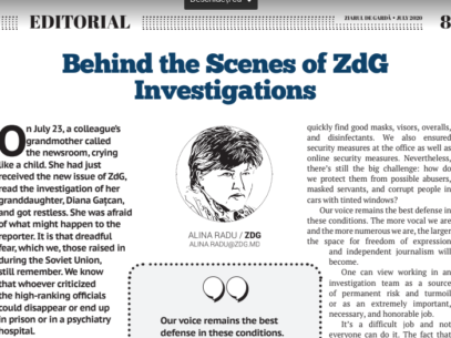 Behind the Scenes of ZdG Investigations