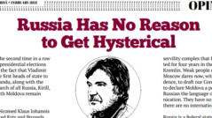 Russia Has No Reason to Get Hysterical