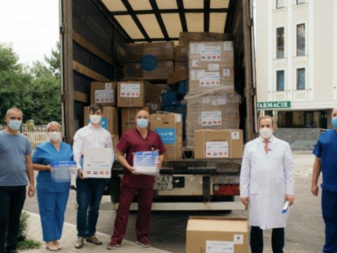 UNICEF Delivers a Batch of Personal Protective Equipment to Frontline Health Care Workers and Border Police