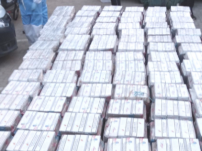 Six People Detained for Cigarrete Smuggling