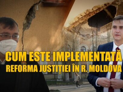 How the Justice Reform Is Implemented In Moldova: Court Buildings To Put The Employees' Lives in Danger