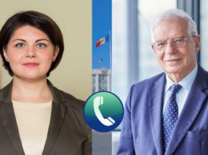 Josep Borrell Invited Prime Minister Gavrilița to Brussels