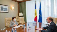 Prime Minister Gavrilița Meets the Russian Ambassador to Moldova